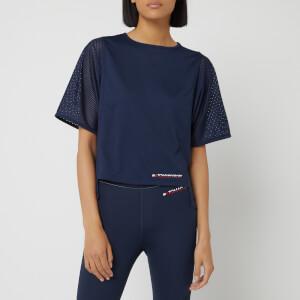 Tommy Hilfiger Sport Women's Short Sleeve Mesh T-Shirt - Sport Navy