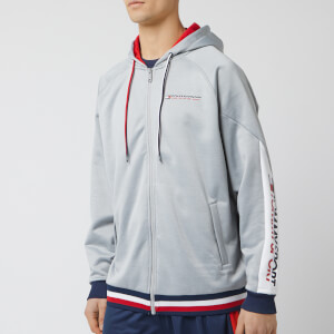 Tommy Hilfiger Sport Men's Zip Through Hoodie - Grey Heather