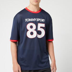 Tommy Hilfiger Sport Men's Short Sleeve Oversized T-Shirt - Sport Navy