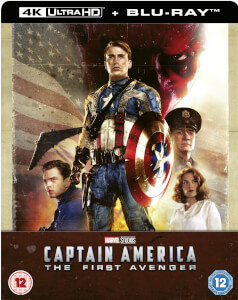 Captain America: The First Avenger 4K Ultra HD (Inkl. 2D Blu-ray) Zavvi UK Exklusives Steelbook