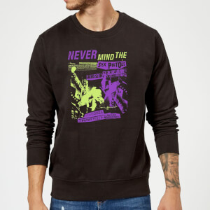 Sex Pistols Japan Tour Sweatshirt - Schwarz