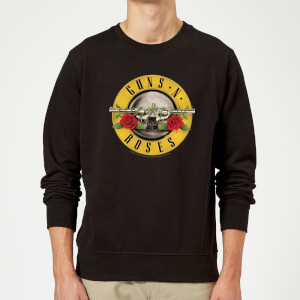 Guns N Roses Bullet Sweatshirt - Black