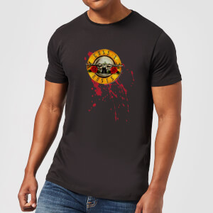 Guns N Roses Bloody Bullet Men's T-Shirt - Black