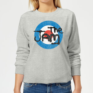 The Jam Target Logo Women's Sweatshirt - Grey