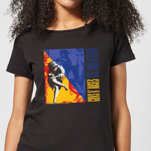 Guns N Roses Use Your Illusion Damen T-Shirt - Schwarz