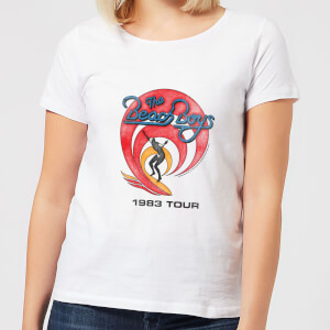 The Beach Boys Surfer 83 Damen T-Shirt - Weiß