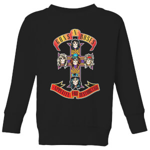 Guns N Roses Appetite For Destruction Kinder Sweatshirt - Schwarz