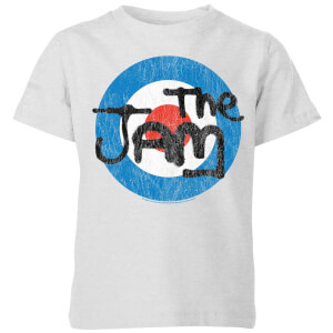 The Jam Target Logo Kids' T-Shirt - Grey