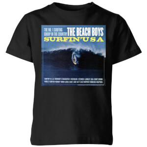 The Beach Boys Surfin USA Kids' T-Shirt - Black