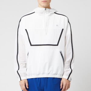 Calvin Klein Performance Men's Training Anorak - Bright White/Sodalite Blue