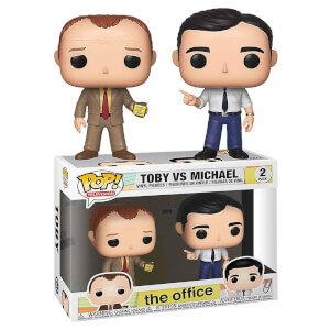 The Office Toby vs. Michael 2 Pack Funko Pop! Vinyl