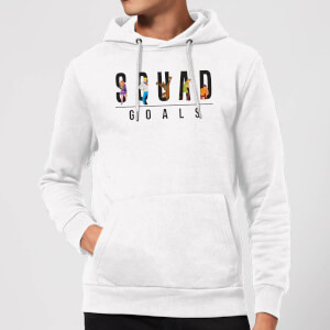 Scooby Doo Squad Goals Hoodie - White