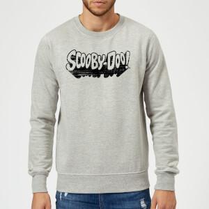 Scooby Doo Retro Mono Logo Sweatshirt - Grey