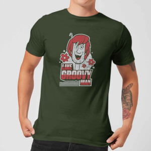 Scooby Doo Like, Groovy Man Men's T-Shirt - Forest Green
