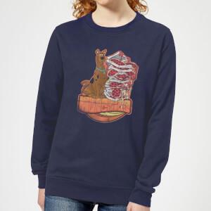 Scooby Doo Munchies Women's Sweatshirt - Navy