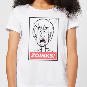 Scooby Doo Zoinks! Women's T-Shirt - White