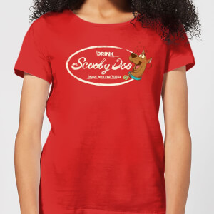 Scooby Doo Cola Women's T-Shirt - Red