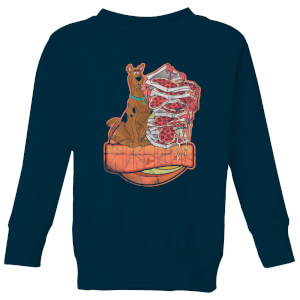 Scooby Doo Munchies Kids' Sweatshirt - Navy