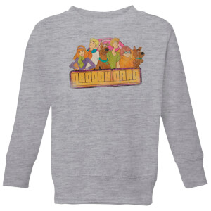 Scooby Doo Groovy Gang Kids' Sweatshirt - Grey