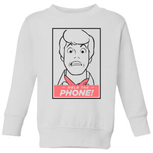 Scooby Doo Hold The Phone Kids' Sweatshirt - White