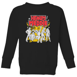 Scooby Doo Heavy Meddle Kids' Sweatshirt - Black