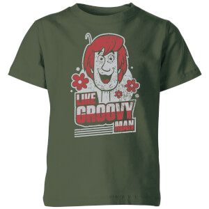 Scooby Doo Like, Groovy Man Kids' T-Shirt - Forest Green
