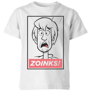 Scooby Doo Zoinks! Kids' T-Shirt - White