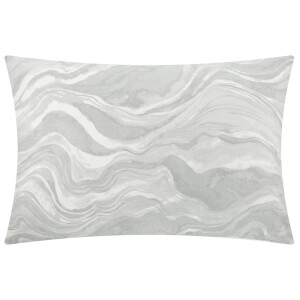 DKNY Marble Pillowcase - Grey - Standard