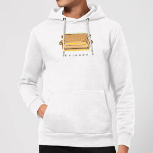 Friends Couch Hoodie - White