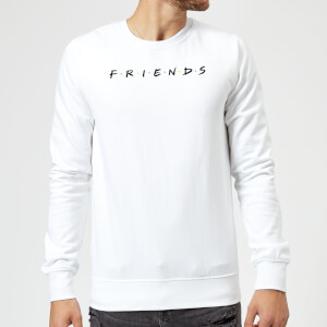 Friends Logo Sweatshirt - White