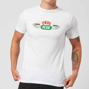 Friends Central Perk Men's T-Shirt - White