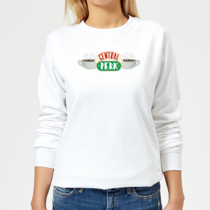 Friends Central Perk Women's Sweatshirt - White