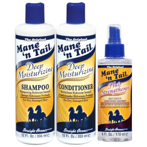Mane 'n Tail Deep Moisturizing Hair Strengthening 3 Pack Kit