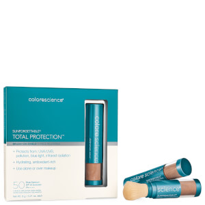 Colorescience Sunforgettable Total Protection Brush on 3 Piece Shield Set - Deep 18g