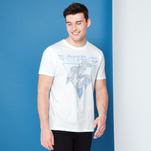 Transformers Megatron Retro Japanese T-Shirt - White