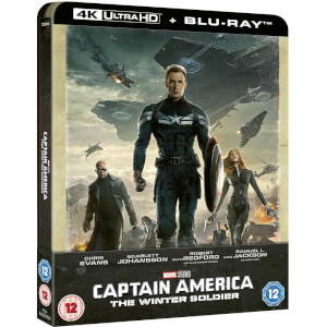 Captain America 2: The Return of the first Avenger (Winter Soldier) 4K Ultra HD (Inkl. 2D Blu-ray) Zavvi Exklusives Steelbook