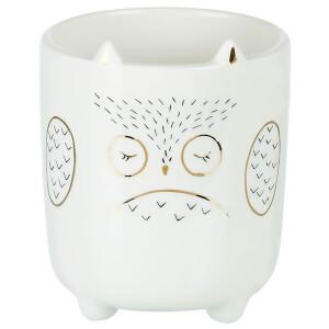 Parlane Porcelain Owl Planter