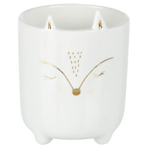 Parlane Porcelain Fox Planter