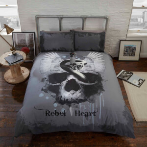 Rapport Rebel Heart Duvet Set - Multi