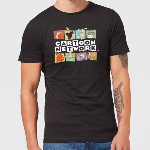 Cartoon Network Logo Characters Herren T-Shirt - Schwarz