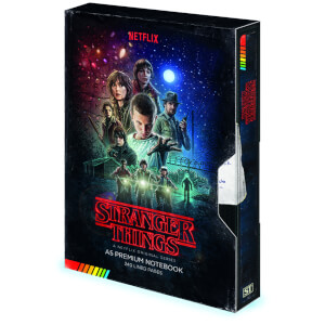 Stranger Things (VHS) Premium Notebook