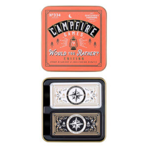 "Gentlemen's Hardware ""Would you rather"" Campfire-Spiel"