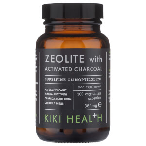 KIKI Health Zeolite with Activated Charcoal Vegicaps (100 Vegicaps)