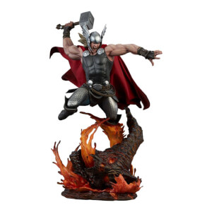 Figurine Thor: Breaker of Brimstone format premium (65 cm), Marvel Comics – Sideshow Collectibles