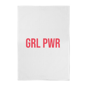 GRL PWR Cotton Tea Towel