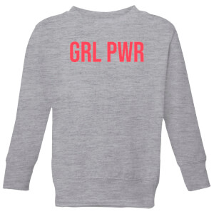 GRL PWR Kids' Sweatshirt - Grey
