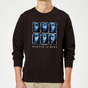 Game of Thrones Winter Is Here Faces trui - Zwart
