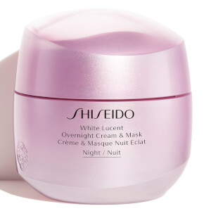 Shiseido White Lucent Overnight Cream and Mask 75ml