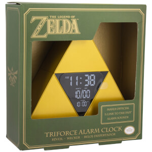 Reloj despertador Trifuerza The Legend of Zelda
