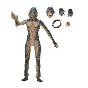 Action figure Uomo Anfibio (La forma dell'acqua), edizione speciale Guillermo del Toro - NECA - circa 18 cm